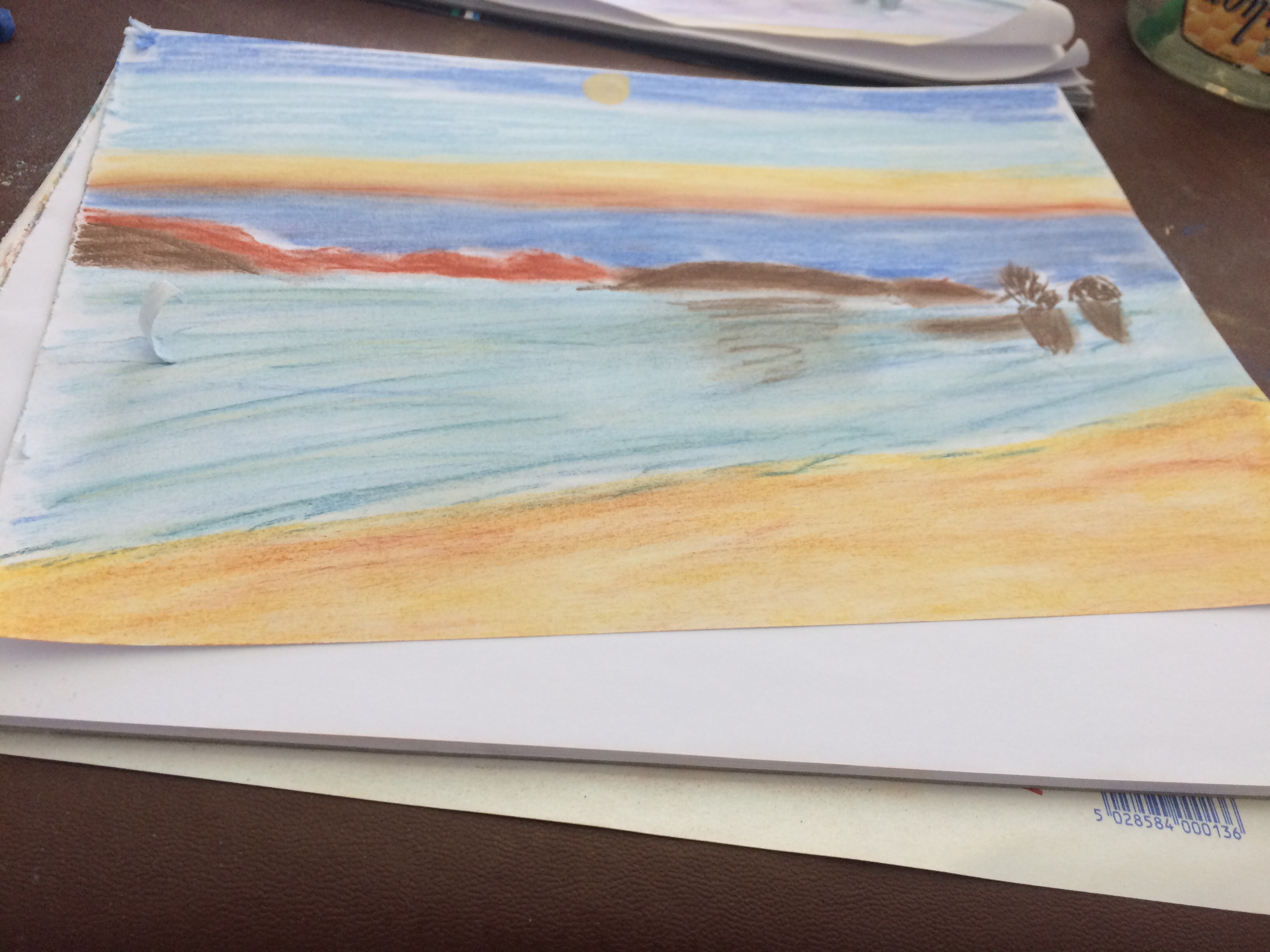 Nidri bay pastel