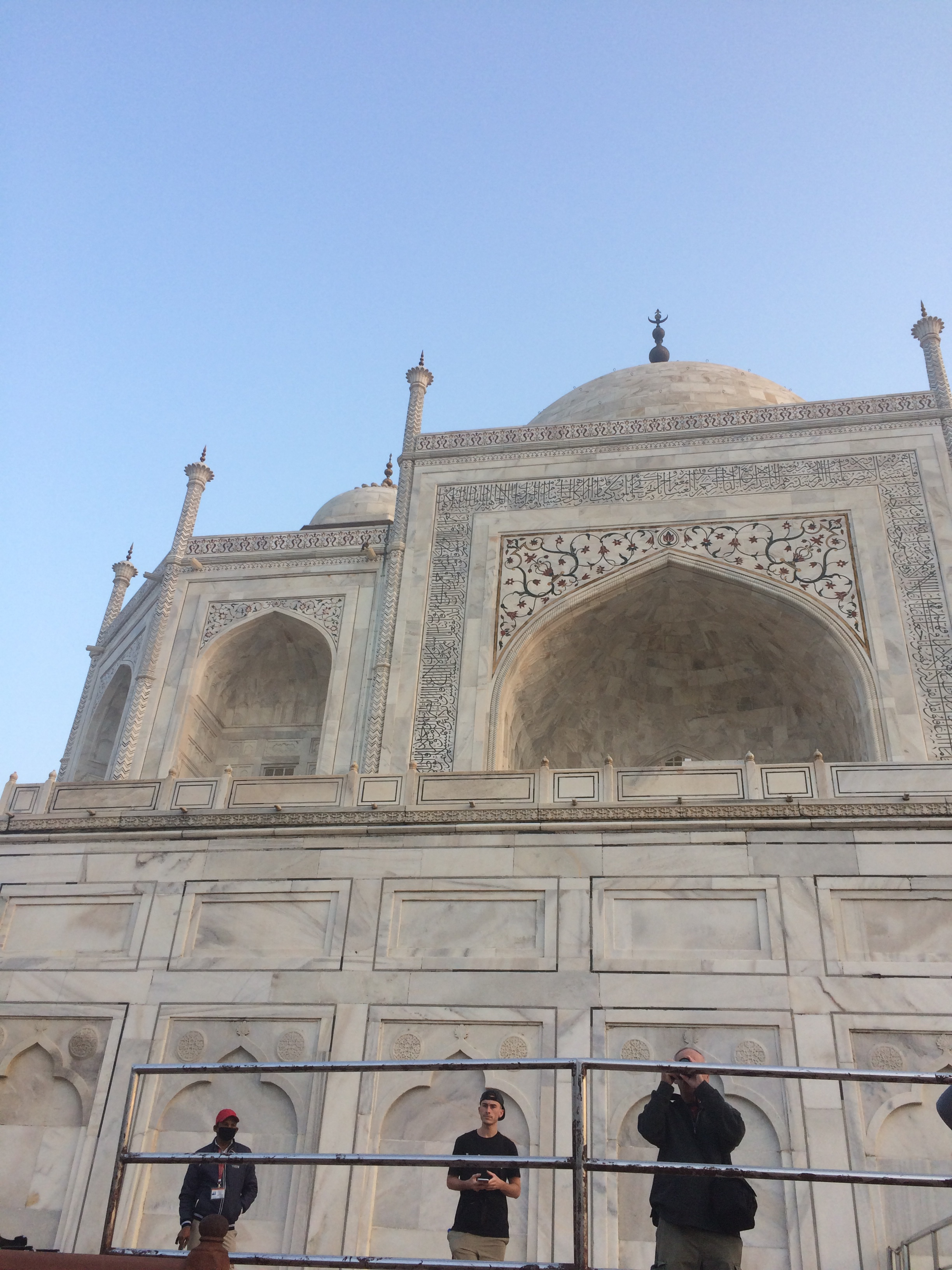 Taj in the sun