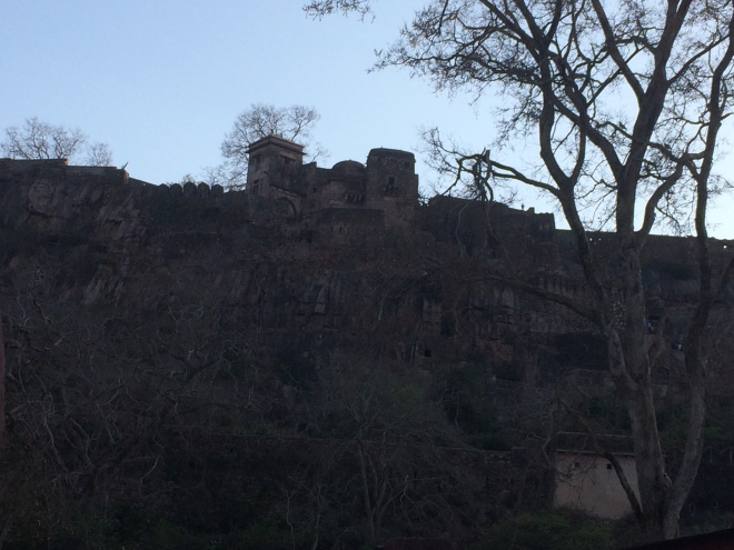 Fort on the hill