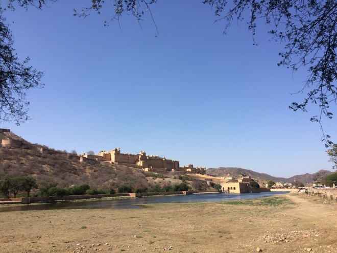 A view of the Amber Fort