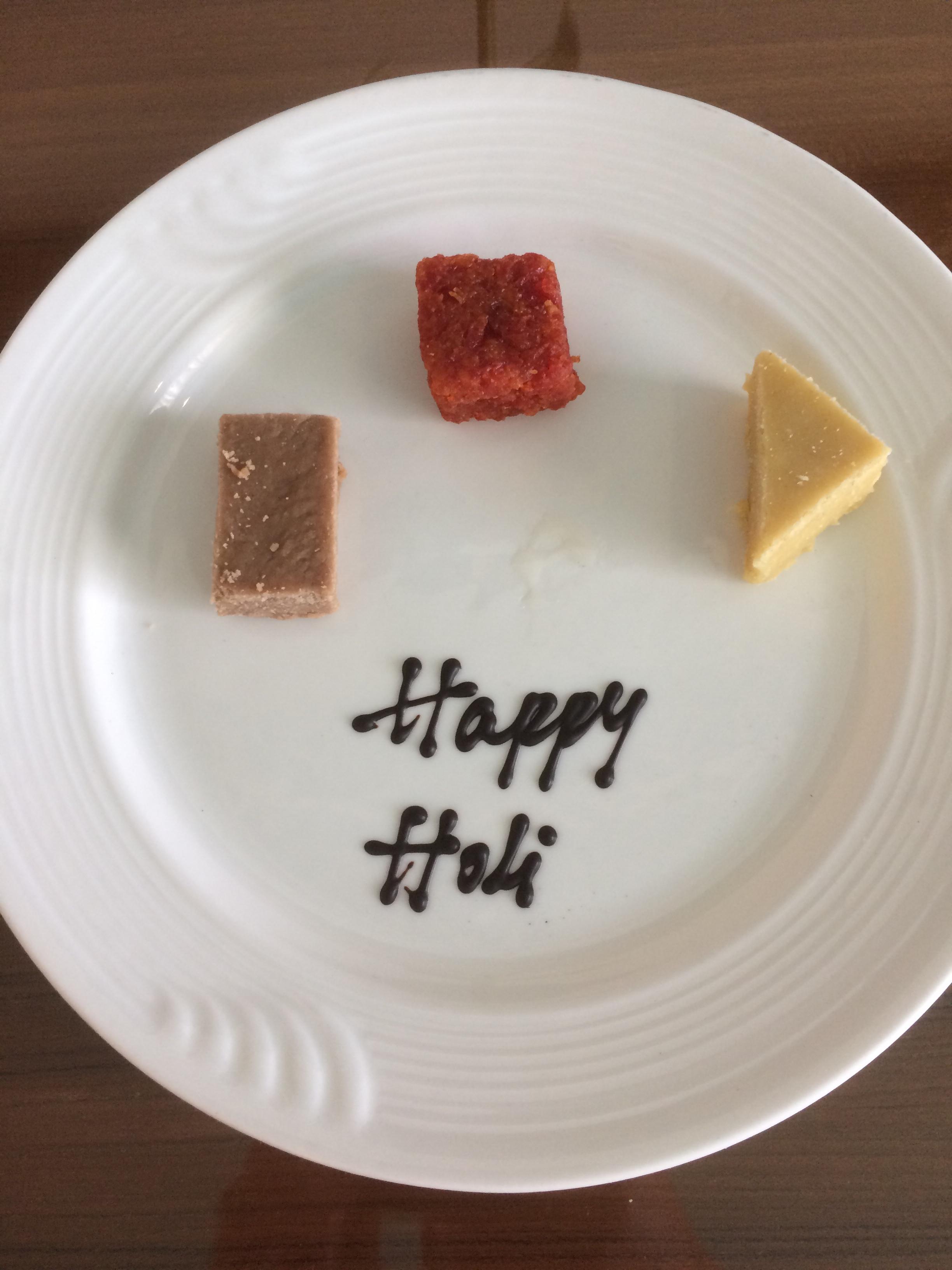 Happy Holi dessert place