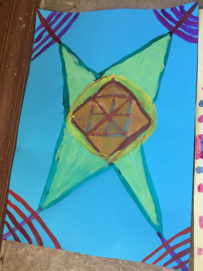 More geometric star art